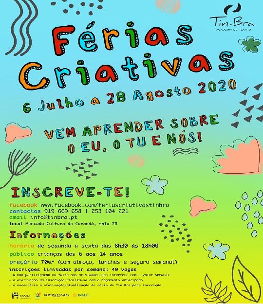 Ficha de Inscrição - Férias Criativas